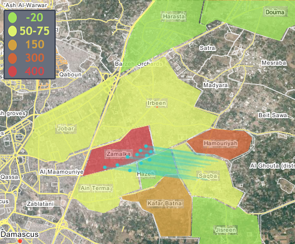 East Ghouta Color Map revised.png