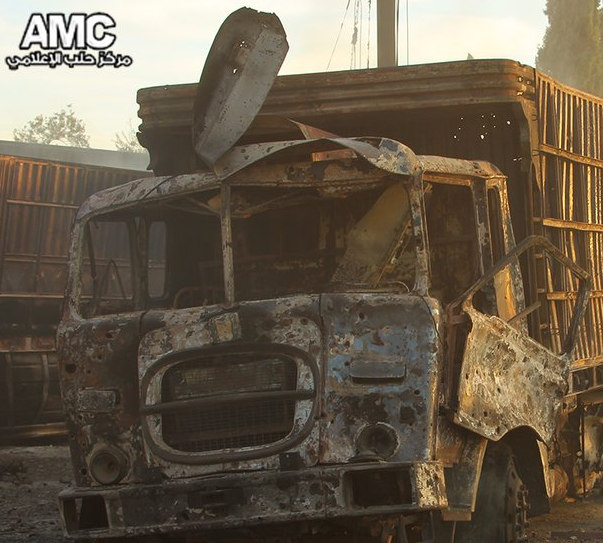 Urm al-Kubra Attack truck 2 damage detail.png