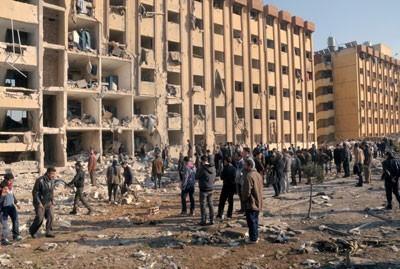 File:Aleppo university damage.jpg