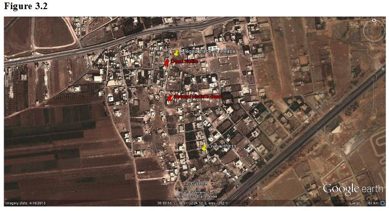 Khan al-Assal CW Attack UN Map.png