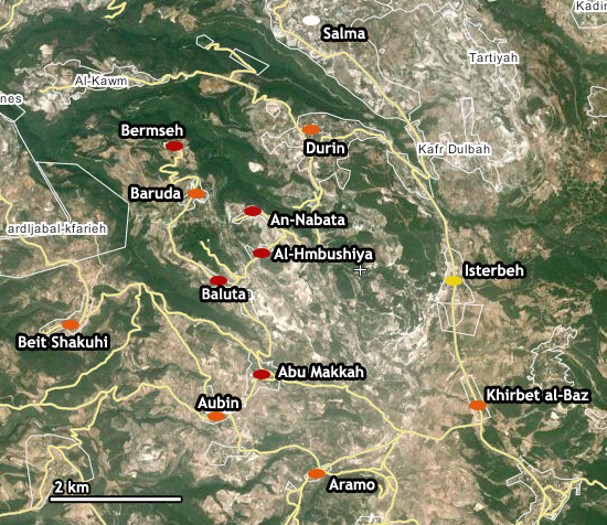 File:Latakia Massacres Map towns.png
