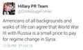 WW3 small price to pay says Hillary.jpg