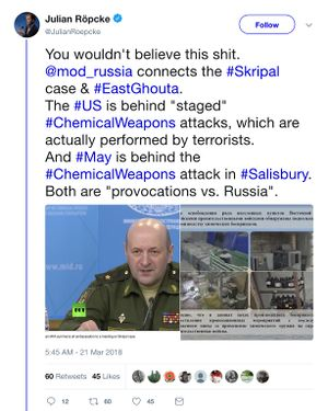 Poisoning of Sergei Skripal - A Closer Look On Syria