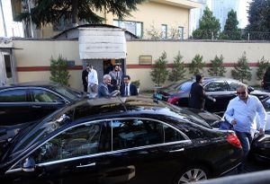 Saudi cleaners leave consulate in Istanbul 2.jpg