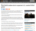 Four Syrian soldiers die in suspected U.S. coalition strike.png