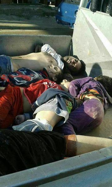 File:Khan Sheikhoun 4 sisters on truck.jpg