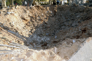 Aleppo Univ damage crater 2.png