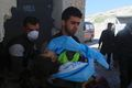 Exiting White Helmets cave hospital.jpg