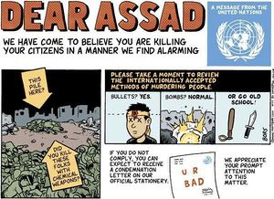 Dear Assad – UN chemical weapons investigation.jpg