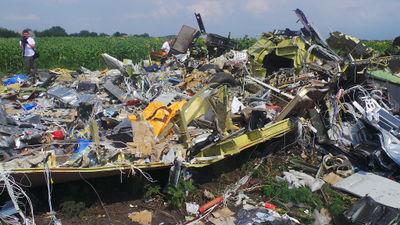 MH17 front landing gear.jpg