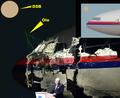 MH17 warhead detonation points.png