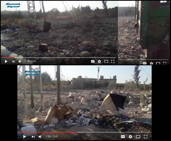 Urm al-Kubra Attack truck 1 behind.png