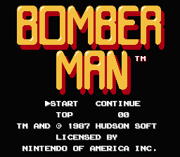 File:Bomberman NES title screen.png