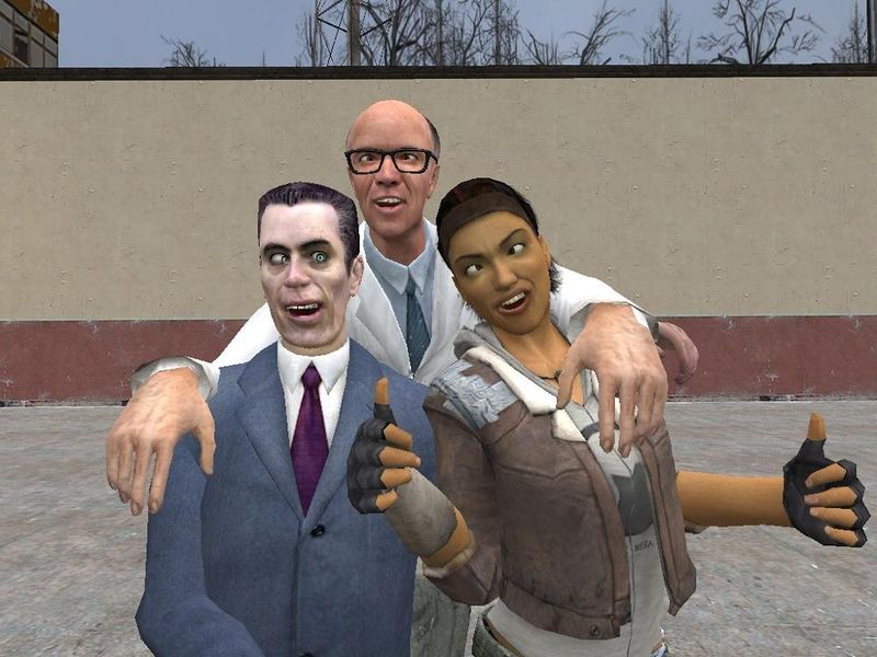 File:Gman Dr Kliner and Alyx by Garrys Mod Dude.jpg