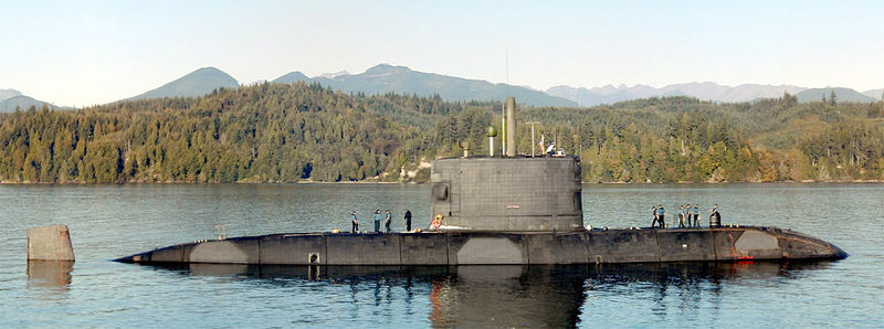 File:HMS Unseen (S41) near Bangor, Washington.jpg