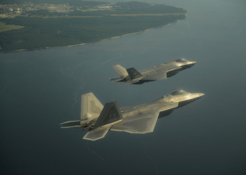 File:F22 and F35 flying together.jpg