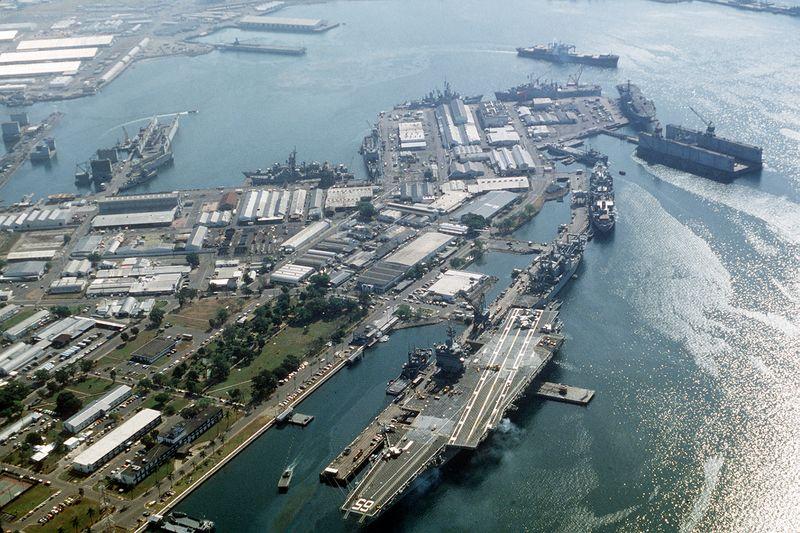 File:USS Enterprise CVN-65 Subic Bay.jpg