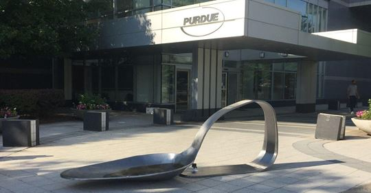 File:Drug spoon sculpture at Purdue Pharma on 22 June 2018.jpg