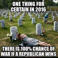 100% chance of war if Republican wins.jpg