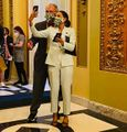 Washington DC 2021 April 20. AOC and Earl Blumenauer wore pot leaf masks at the Capitol.jpg