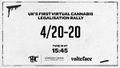 United Kingdom 2020 April 20. UK's First Virtual Cannabis Legalisation Rally.jpg