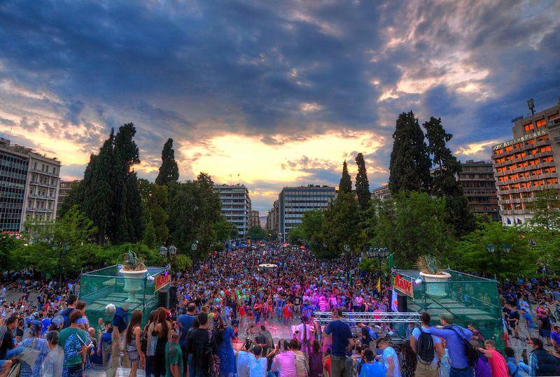 File:Athens 2015 May 9 Greece crowd 3.jpg
