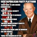 1956 Republican platform during President Eisenhower's reelection campaign.jpg