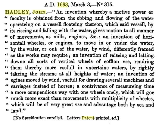 File:Hadley Patents for inventions. Abridgments.jpg