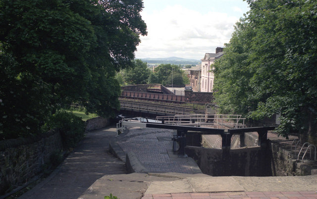 File:Northgate Locks, Shropshire Union Canal, Chester - geograph.org.uk - 811431.jpg