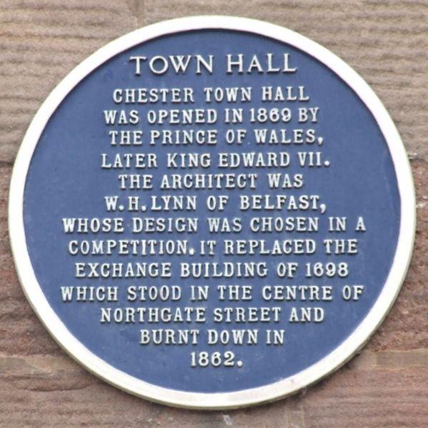 File:ChesterTownHallBluePlaque.jpg