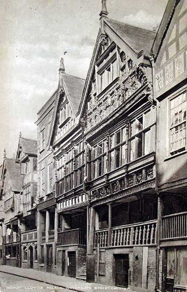 File:Cheshire, Chester, Watergate Street, Bishop Lloyd's Palace.jpg