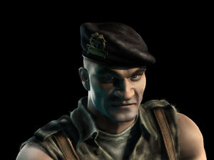 Green Beret in Commandos 3