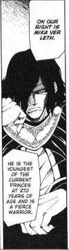 Mika Ver Leth from manga by Takahiro Arai.