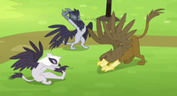 Griffons stretching S4E10.png