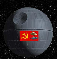 That's no Death Star...