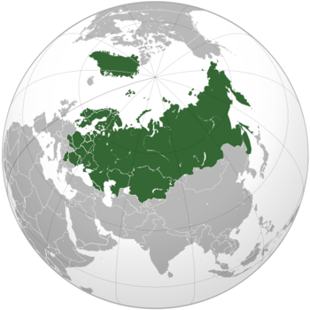 Location of the Eastern Union