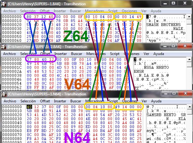N64 DumpDiff - en64 wiki
