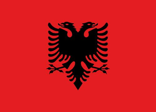 Archivo:Bandera de Albania.png