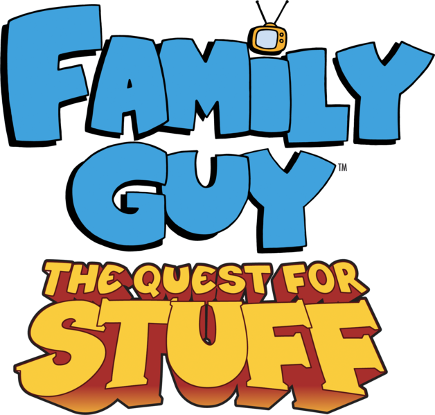 File:Family Guy The Quest for Stuff logo.png