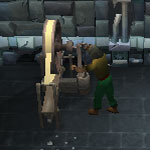 A player spinning armour