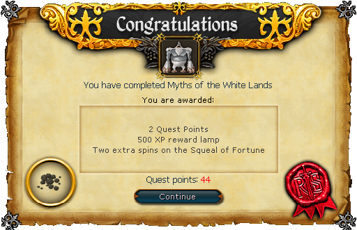 Myths of the White Lands palkinto.png
