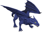 Blue dragon (after)