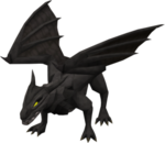Black dragon (after)