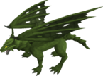 Green dragon (after)