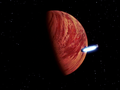 Falcon approaches Yavin.png