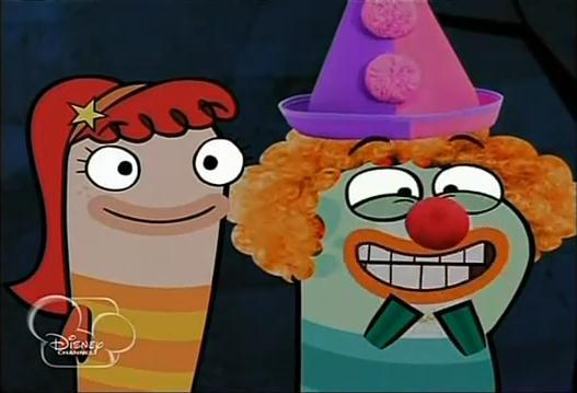 File:Milo, dressed as a clown, and Bea.JPEG