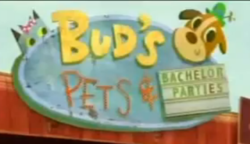 Bud's Pets Guys' Night Out gag.png