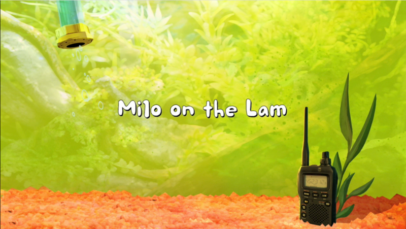 File:Milo on the Lam title card.png