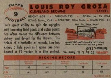 File:9 Lou Groza football card-B.jpg