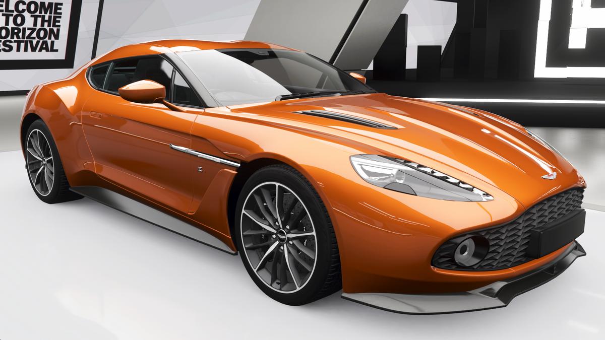 Aston Martin Vanquish Zagato Coupe Forzapedia